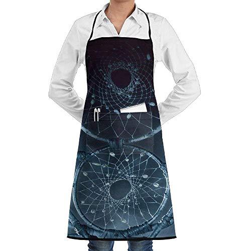 Sangeigt Küche, die Garten-Schürze kochtn, Chef Apron with Pockets Dream Catcher Cooking Apron Home Kitchen Cooking ()