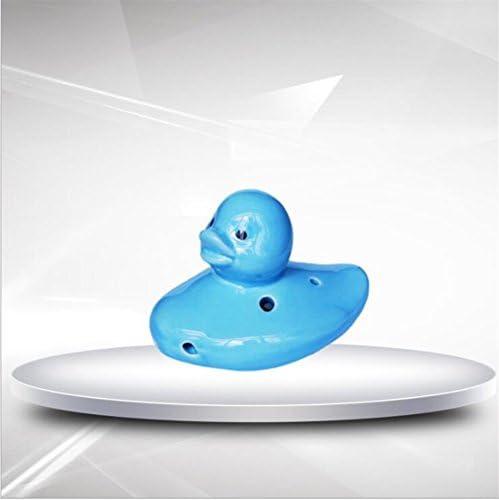 Kolimo Jouet Musical Canard 6 Trou Porcelaine Flûte Décoration Artisanat Décoration Flûte Bijoux sans Longe (Bleu) B07HDNGR6P 4e1415
