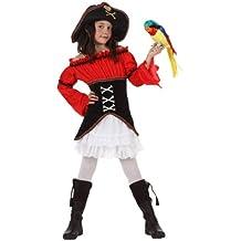 Atosa - Disfraz de pirata para niña, talla 5 - 6 años (10908)