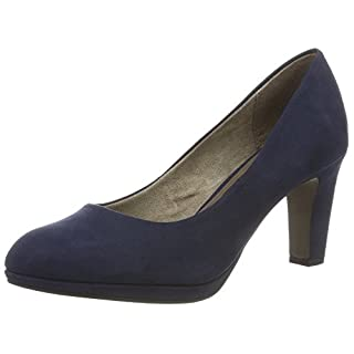 Tamaris Damen 22420 Pumps, Blau (Navy 805), 36 EU