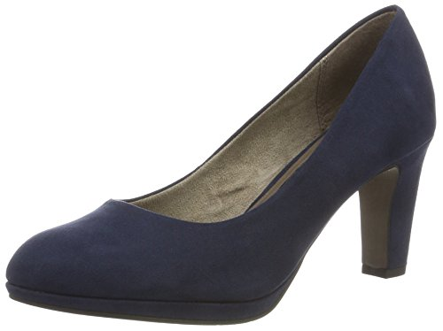 Tamaris Damen 22420 Pumps, Blau (Navy 805), 37 EU