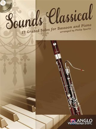 Preisvergleich Produktbild Sounds Classical: 17 Graded Solos for Bassoon and Piano (Leicht-Mittelschwer)