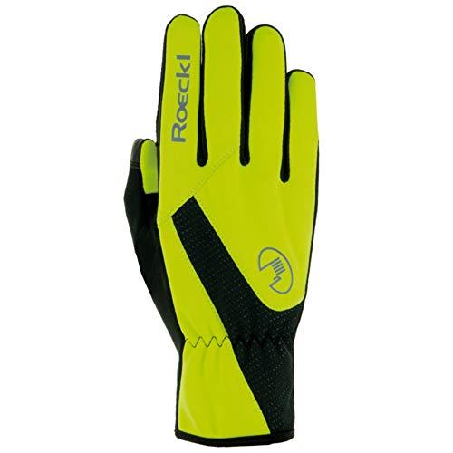 Roeckl Roth Winter Fahrrad Handschuhe gelb/schwarz 2019: Größe: 7.5