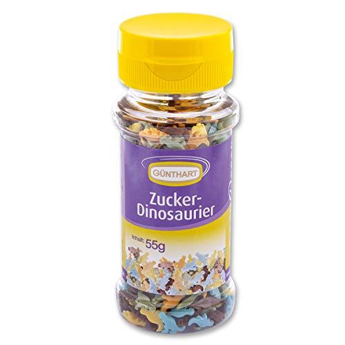 Günthart Streudekor Dinosaurier | aus Zucker | essbar | Steinzeit | Dino Party