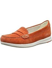 Scarpe Geox Avery Scarpe da Donna comodo Slipper Scarpe Basse Arancione Nuovo