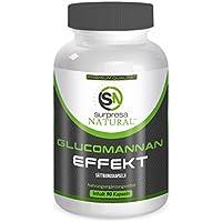 GLUCOMANNAN EFFEKT  90 Hochdosierte Kapseln   Abnehmen   Gewichtsverlust