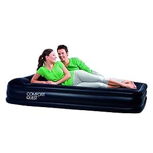 Comfort quest matelas gonflable restaira noir sports et loisirs - Go sport matelas gonflable ...