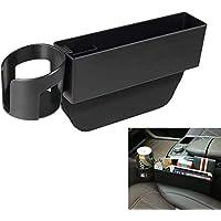 Semaphore Car Seat Gap Filler, Console Side Pocket with Detachable Cup Holder Car Seat Catcher Car Pocket Organizer…
