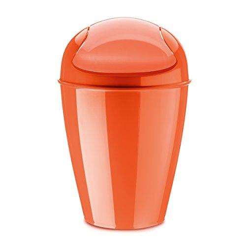 koziol-del-m-cubo-de-basura-papelera-bidon-de-basura-basurero-cubo-con-tapadera-plastico-rojo-12-l-5