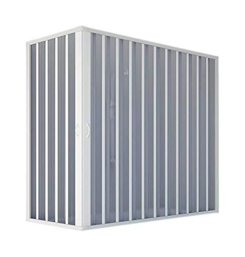Forte bk200001, box vasca arredobagno, bianco, 70 x 170/140 x 150 h