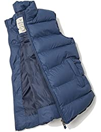 VEDONEIRE Mens Navy Padded Gilet (3063) blue sleeveless vest coat