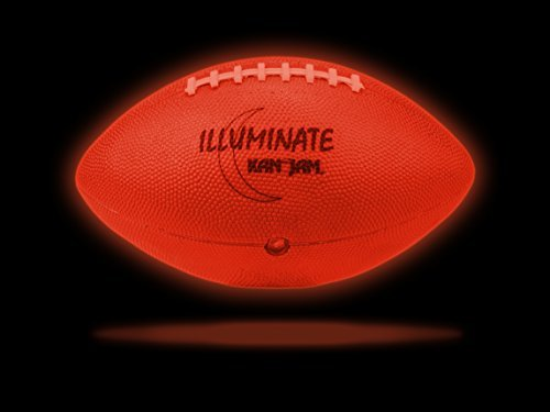 ltra-Bright LED Light-Up Glow Football (Full Size and Weight) by Kan-Jam ()