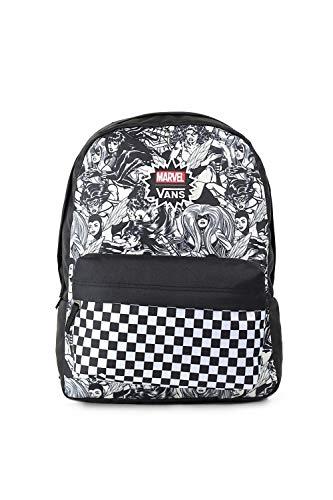 VANS MARVEL WOMAN Backpack Real Black Schoolbag VN0A3QXCBLK