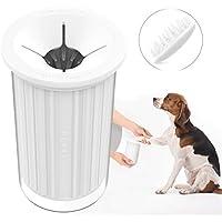 PETKIT Hunde Pfote Reiniger mit Haarbürtse und Massagekamm, Tragbar Hund Pfote Reiniger Hunde-Pfotenreiniger Fußreiniger Pfotenreinigung