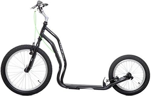 Preisvergleich Produktbild Scooter Tretroller Dogscooter Yedoo Mezeq V-Brake New 20 / 16 Zoll schwarz City-Scooter Roller