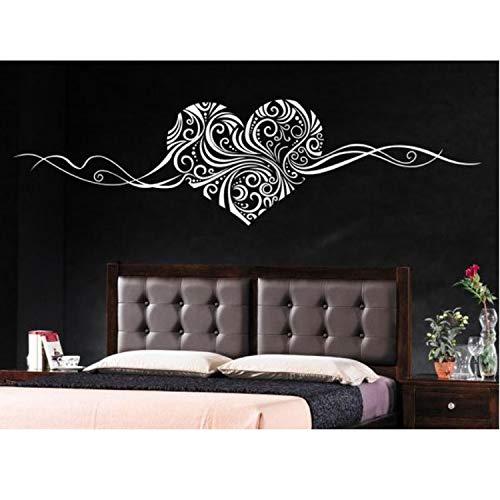 Romantische Herz Entfernbare Wandtattoo Home Dekoration Wandkunst Liebe Hochzeitsdekoration Mittelstücke Familie Aufkleber