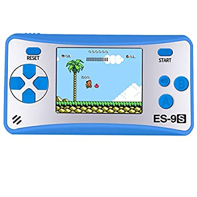"ZHISHAN Handheld Game Console Classic Retro Video Gaming Player Portable Arcade System Birthday Gift for Kids Recreation 2.5"" Color LCD Built in 168 Games"