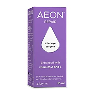 AEON Repair - lubricating Eye Drops Used for Relief of Dry Eyes and for discomfort Caused by Eye Surgery 10ml