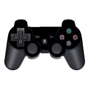 Disagu Design Skin für Sony PS3 Controller – Motiv Schwarz