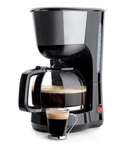 Lacor - 69278 - Cafetera De Goteo 1000w de 1,25 Litros 16 tazas - Negro