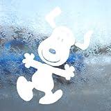 Aufkleber / Autoaufkleber / Sticker / Decal Snoopy White Decal Peanuts Car Laptop Window Vinyl White Sticker