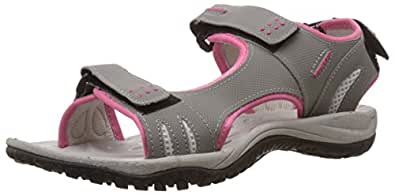 Power Women's Aspen Red, Pink and Orange Sandals and Floaters - 3 UK/India (36EU) (5615204)
