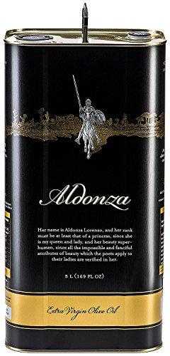 Aldonza gourmet - olio d'oliva extra vergine - 5l. - prima estrazione a freddo. (spagna)