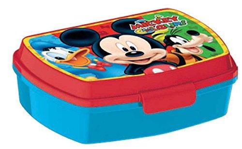 Boite à gouter Mickey Dingo Donald - Disney - Goûter Enfant École Rentrée - 745