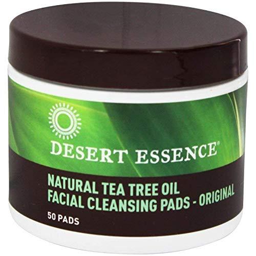 Desert Essence Teebaum Öl Reinigungspads 50 Pads (Tea Face Pads Tree)
