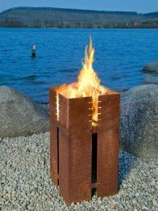 KEILBACH Feuerstelle/Grill FERRUM (ohne Grillrost) | Garten > Grill und Zubehör > Feürstellen | Edelstahl | KEILBACH