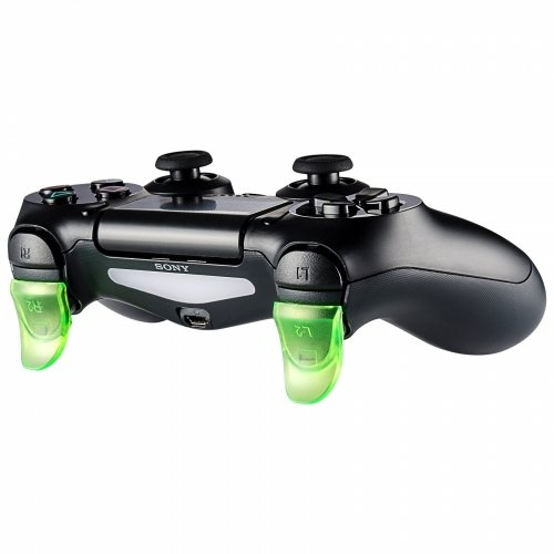 Produktbild SAR-Market - Trigger Extender / Verlängerung für alle PS4 Controller / auch Slim & Pro! (transparent grün)