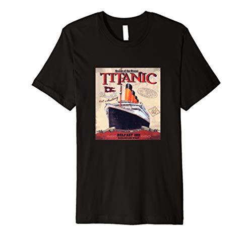Ship Titanic Disaster Historic Treasured Vintage t shirt -