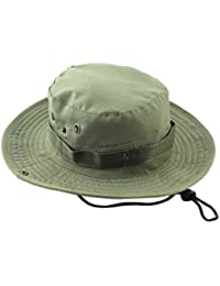 6db4dd8ee40 UJUNAOR Adjustable Hats Mens Fisherman Hat Outdoor Sun Protection Hunting  Hat
