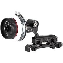 Jtz DP30Cine Quick Release Follow Focus Système 15mm/19mm kit pour Fs700°C300°C500BMCC Ursa Mini A7M2GH4Gh5ARRI PL d'objectif à monture