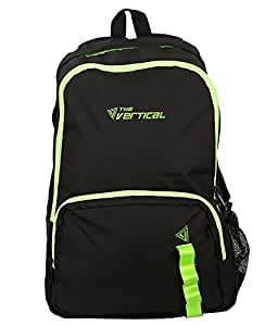 The Vertical 23 Ltrs Black Casual Backpack (JADE)