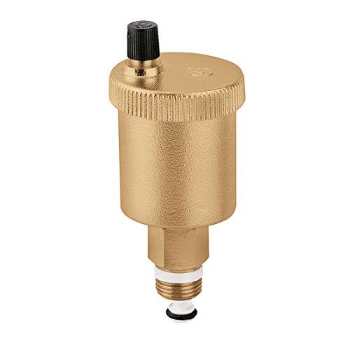 Caleffi Automatischer Schnellentlüfte MINICAL 1/2 Zoll AG mit Absperrung, Automatischem Absperrventil 502140 -