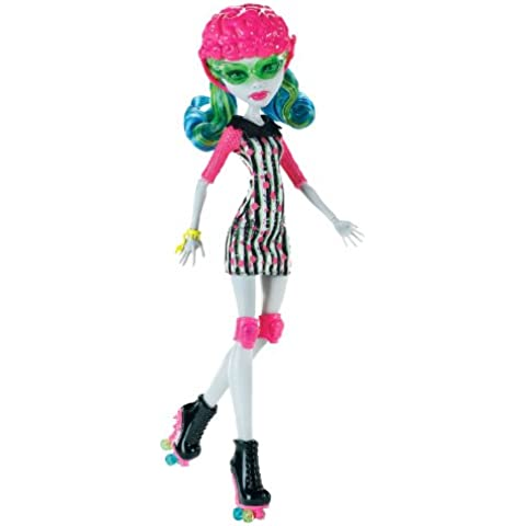 Monster High - Muñeca Ghoulia Yelps Roller Maze (Mattel X3675)