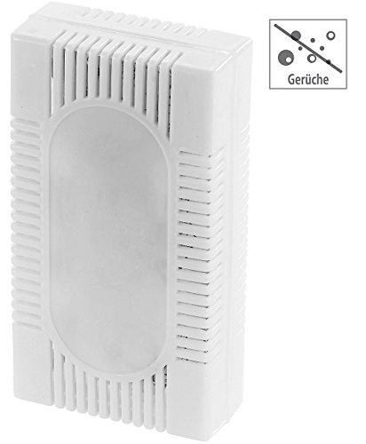 PEARL Kühlschrankentfeuchter: 3in1-Kühlschrank-Frisch EF-66.K gegen Gerüche, Feuchtigkeit & Schimmel (Kühlschrank Duft)