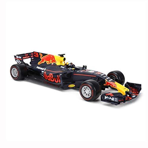 JLBao Modellauto Formel F1 Meisterschaft 2018 Ferrari 1:18 Modelldruckguss Modelllegierung Modellsammlung Ornamente Geschenk Dekoration,Black -