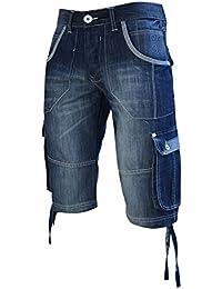 New Fashion Étui en Denim pour homme Teinte sombre Mid Short de toilette