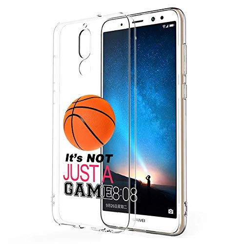 Huawei Mate 10 Lite, Clear - Basketball Its Not Just A Game Pink -
