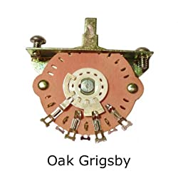 Genuine Oak Grigsby 3-way Selector Switch Fender Usa Telecaster Tele
