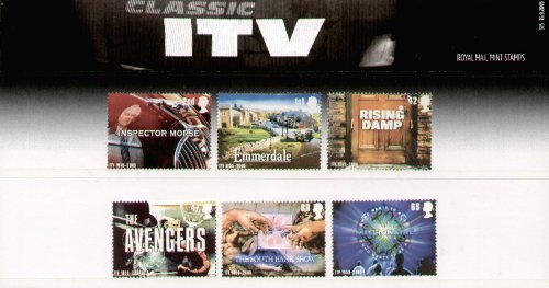 2005 Classic ITV Programmes Commemorative Presentation Pack printed no. 375 (PP347) - Royal Mail Stamps by Royal Mail