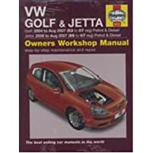 [VW GOLF AND JETTA PETROL AND DIESEL SERVICE AND REPAIR MANUAL] by (Author)Legg, A. K. on Aug-14-07