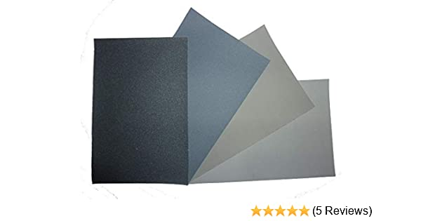 13 Grades /& 5 Sizes Available Micro-Mesh MX Abrasive Polishing Cloth Sheets