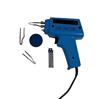 Oypla 100W Electric Soldering Gun Iron Kit with 3 Tips, Solder & Flux