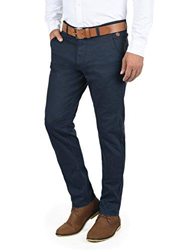 Blend Kainz Herren Chino Hose Stoffhose Aus Stretch-Material Regular Fit, Größe:W34/34, Farbe:Navy (70230)