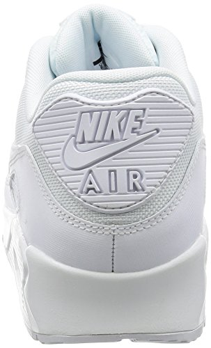 Nike Air Max 90 Essential, Baskets Basses Homme Blanc (White/White/White/White)