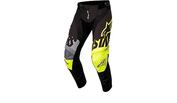 24/= 61/cm Child, Yellow Children MX Trousers Alpinestars 2018/Racer Screamer nero-fluorescent-grigio