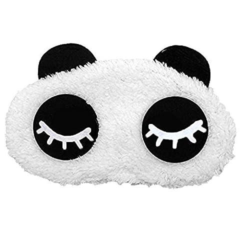 Dessins Animés Panda Coton Dormendo Ombre Yeux Masque Patch Couverture Voyage Reste Bandage Nap Sommeil Blinder A